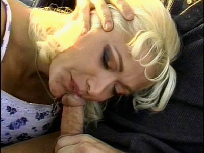 Nina Cherry is a busty blonde stranded and in a very bad mood for a cock to pleasure her longing pussy Watch her tease a hunk by showing off her huge tits and dripping wet pussy Check her out as she gets hardcore pussy knobbing and cum glazed all over her face